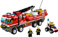 View Instructions For 7213-1 - Off-Road Fire Truck and Fireboat