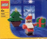 View Instructions For 7224-1 - Santa, Tree, and Present