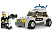 View Instructions For 7236-1 - Police Car