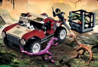 View Instructions For 7296-1 - Dino 4WD Trapper