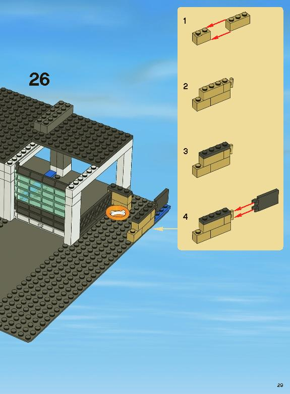 Lego City Police Station Instructions