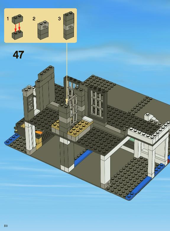 lego city police station 7498 instructions