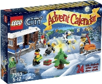 View Instructions For 7553-1 - LEGO City Advent Calendar