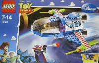 View Instructions For 7593-1 - Buzz's Star Command Spaceship
