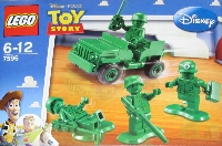 View Instructions For 7595-1 - Army Men on Patrol