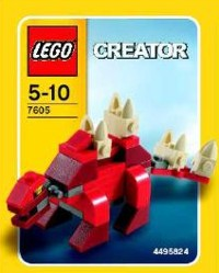 View Instructions For 7605-1 - Stegosaurus