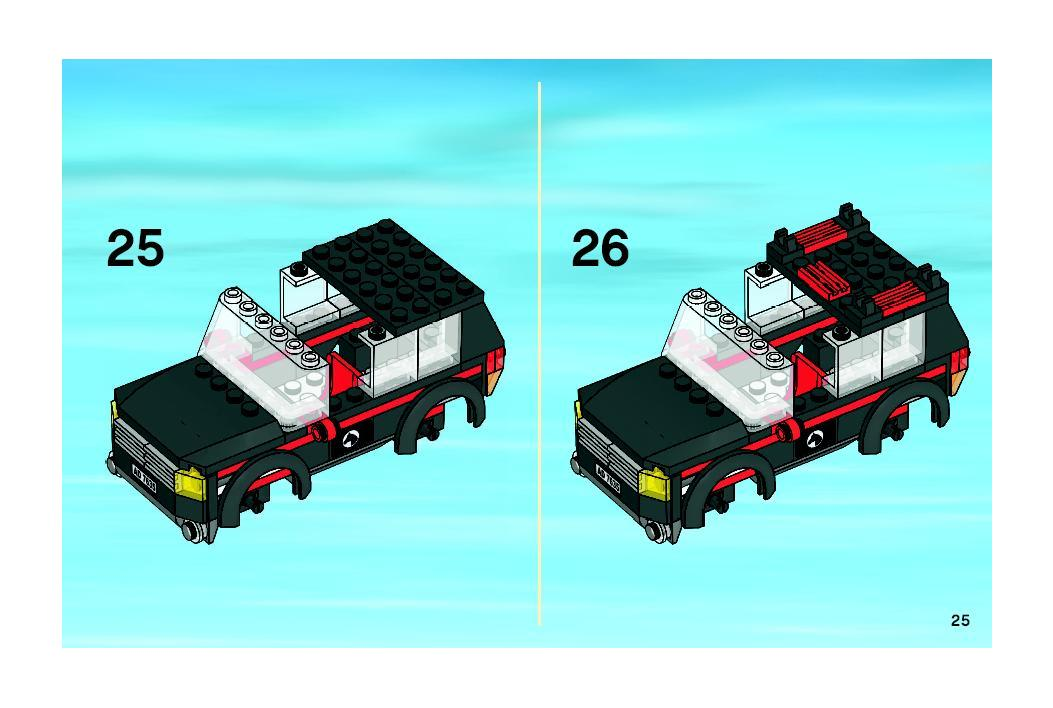 Instructions For 7635 1 4wd With Horse Trailer Bricksgz