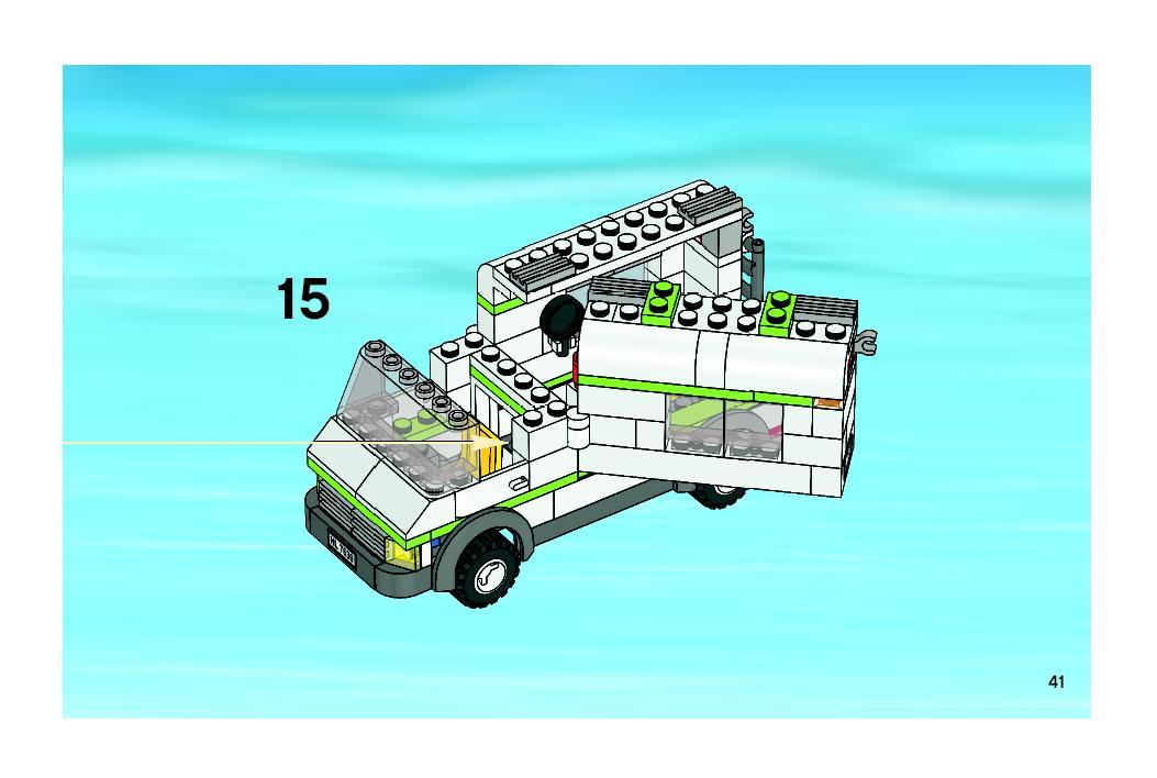 lego camper instructions 7639
