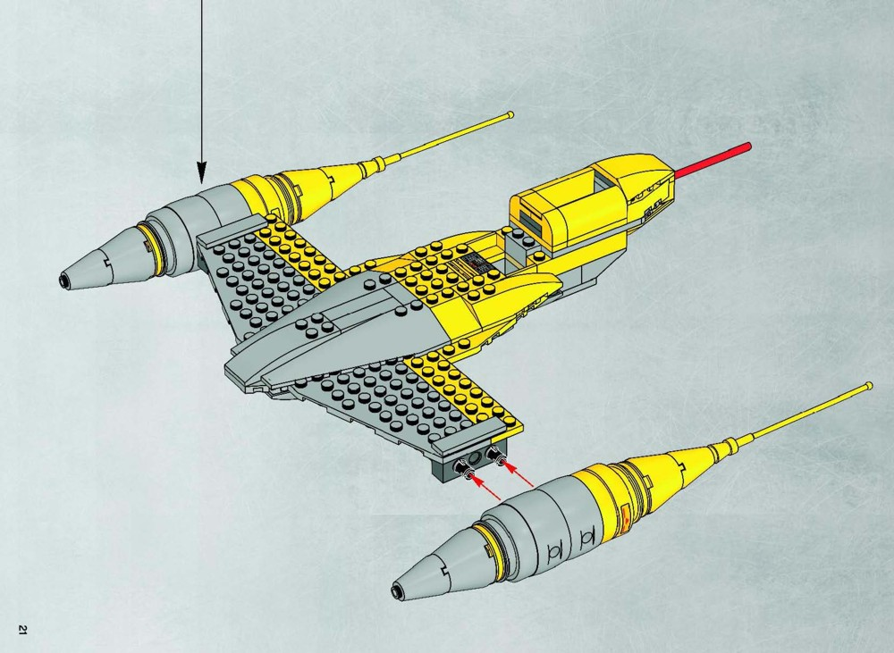 Lego Star Wars Starfighter Instructions