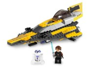 View Instructions For 7669-1 - Anakin's Jedi Starfighter