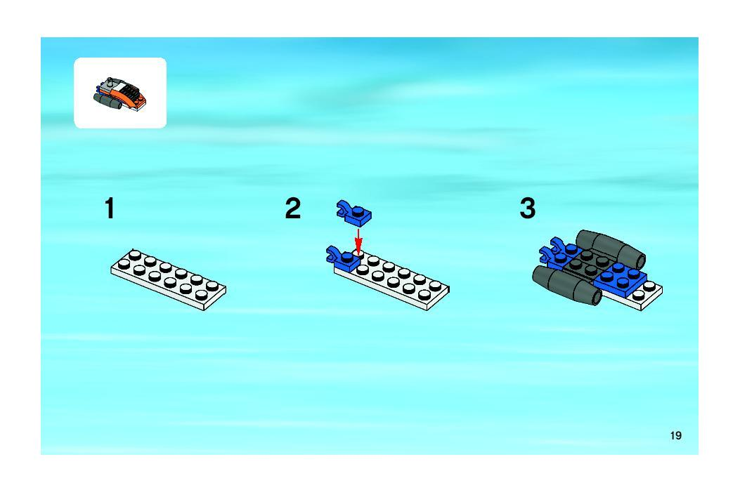 lego 7686 helicopter transporter instructions
