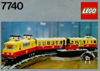 View Instructions For 7740-1 - Electric Inter-city train set, 12 V