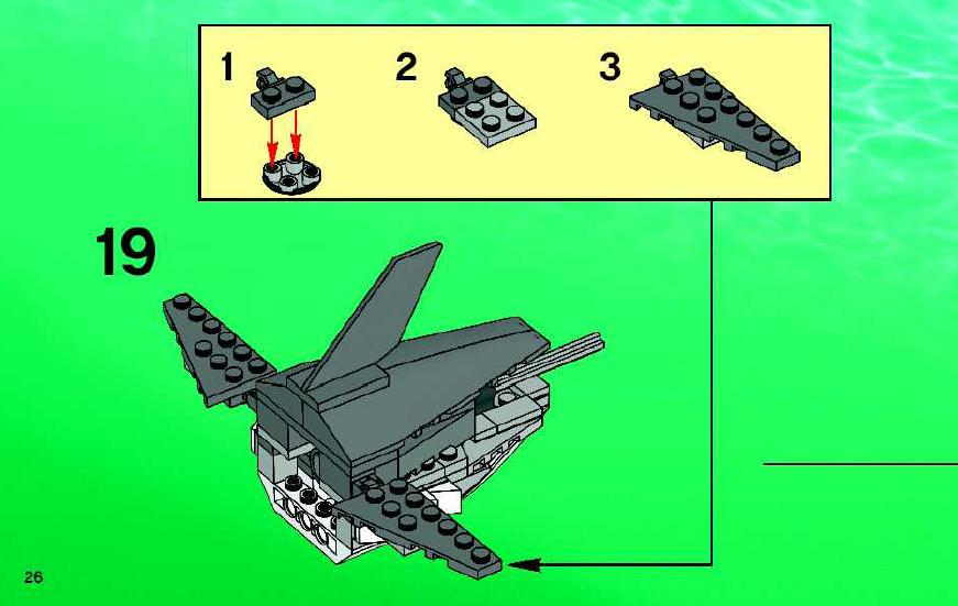 how to make lego step bystep with writing