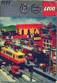 View Instructions For 7777-1 - LEGO Trains Idea Book