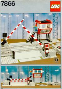 View Instructions For 7866-1 - Level Crossing with Electric Gates