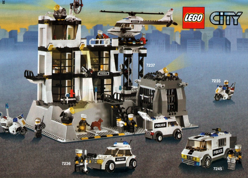 lego city police images