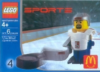 View Instructions For 7919-1 - White Hockey Player