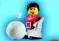 View Instructions For 7924-1 - Red Football Player