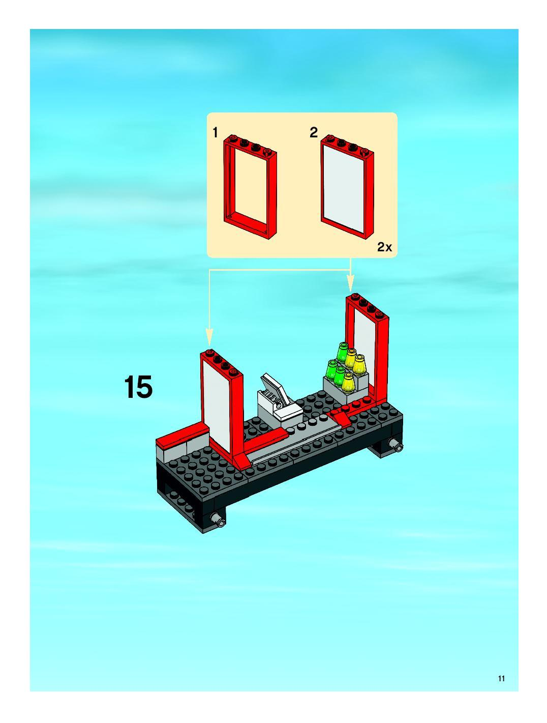 lego train station 7937 instructions