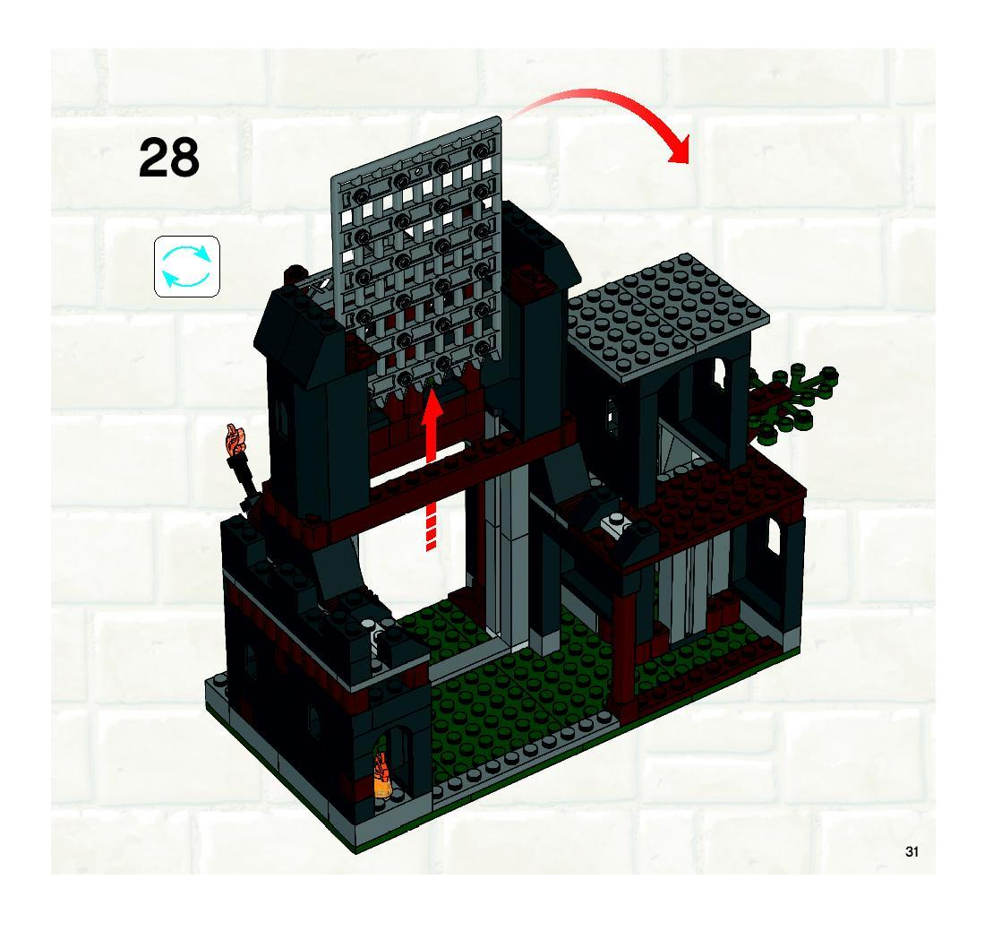 lego prison tower rescue instructions