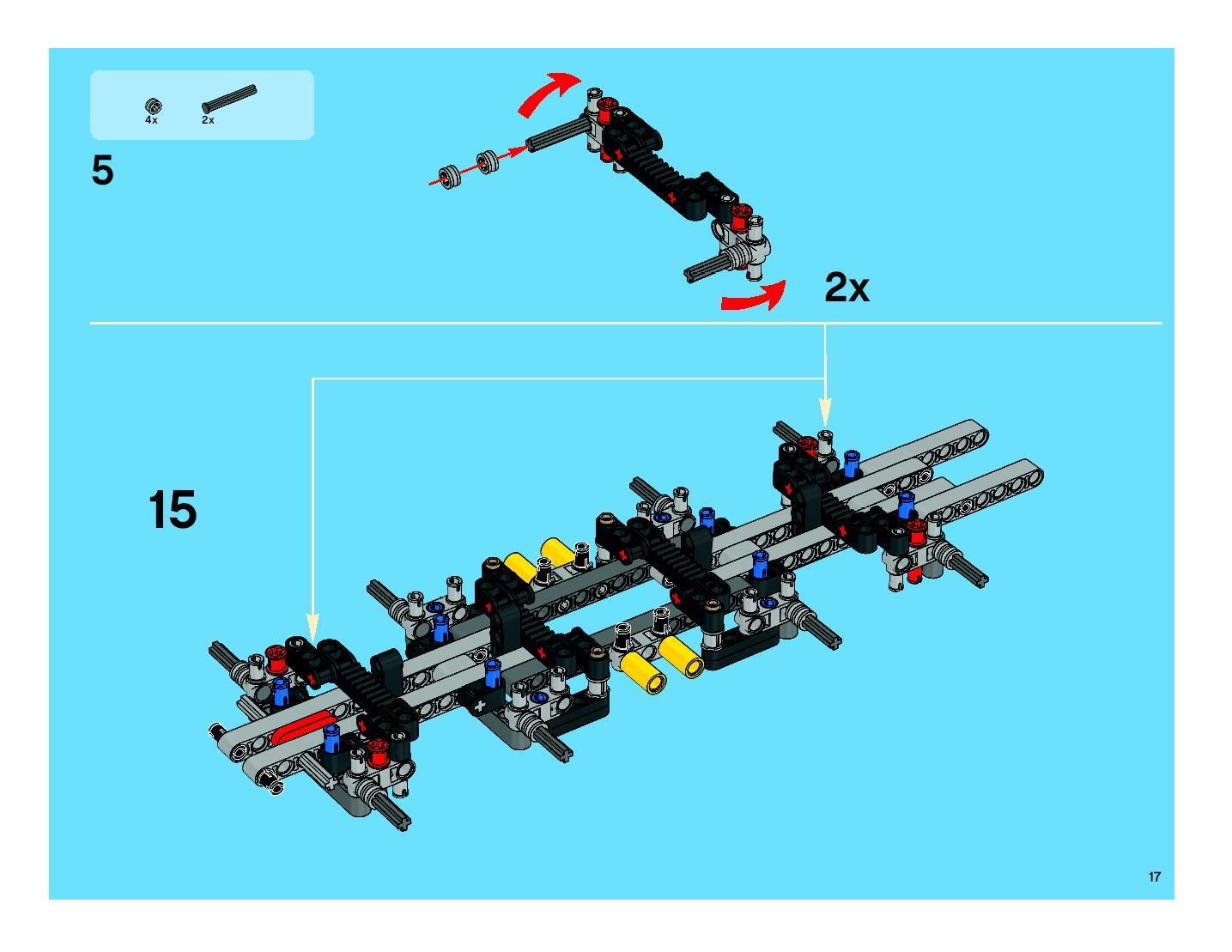 lego technic mobile crane 8053 instructions