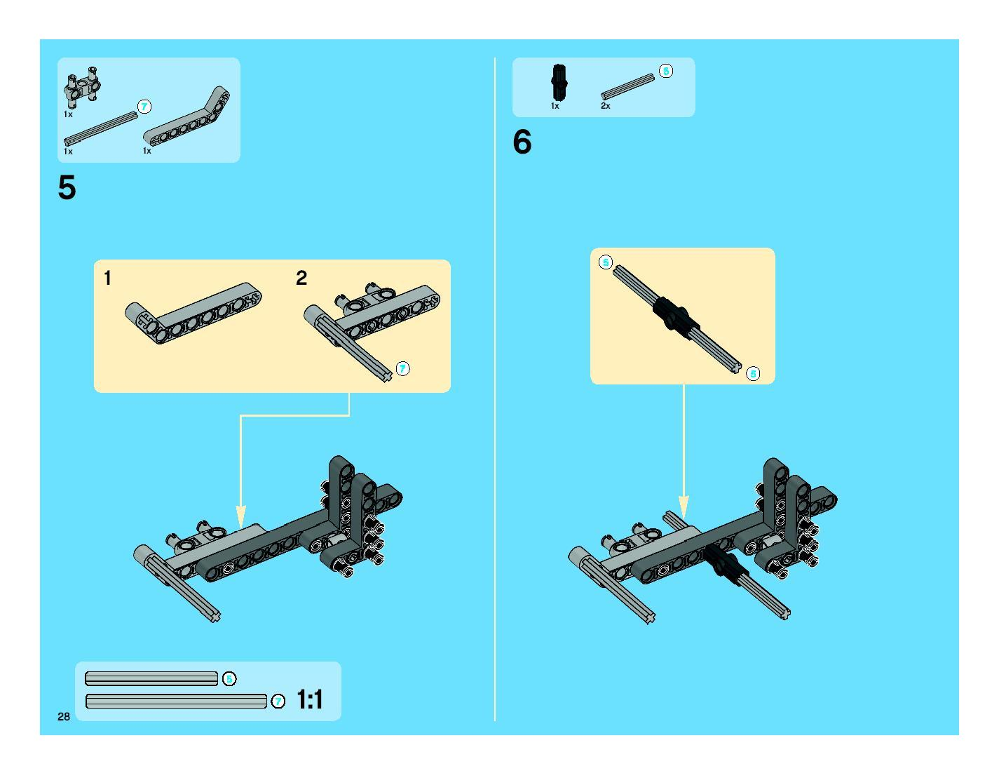 lego technic 8053 instructions