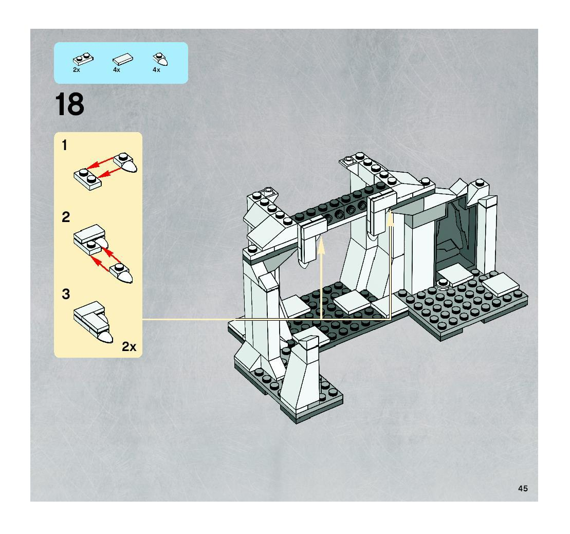 hoth wampa cave instructions