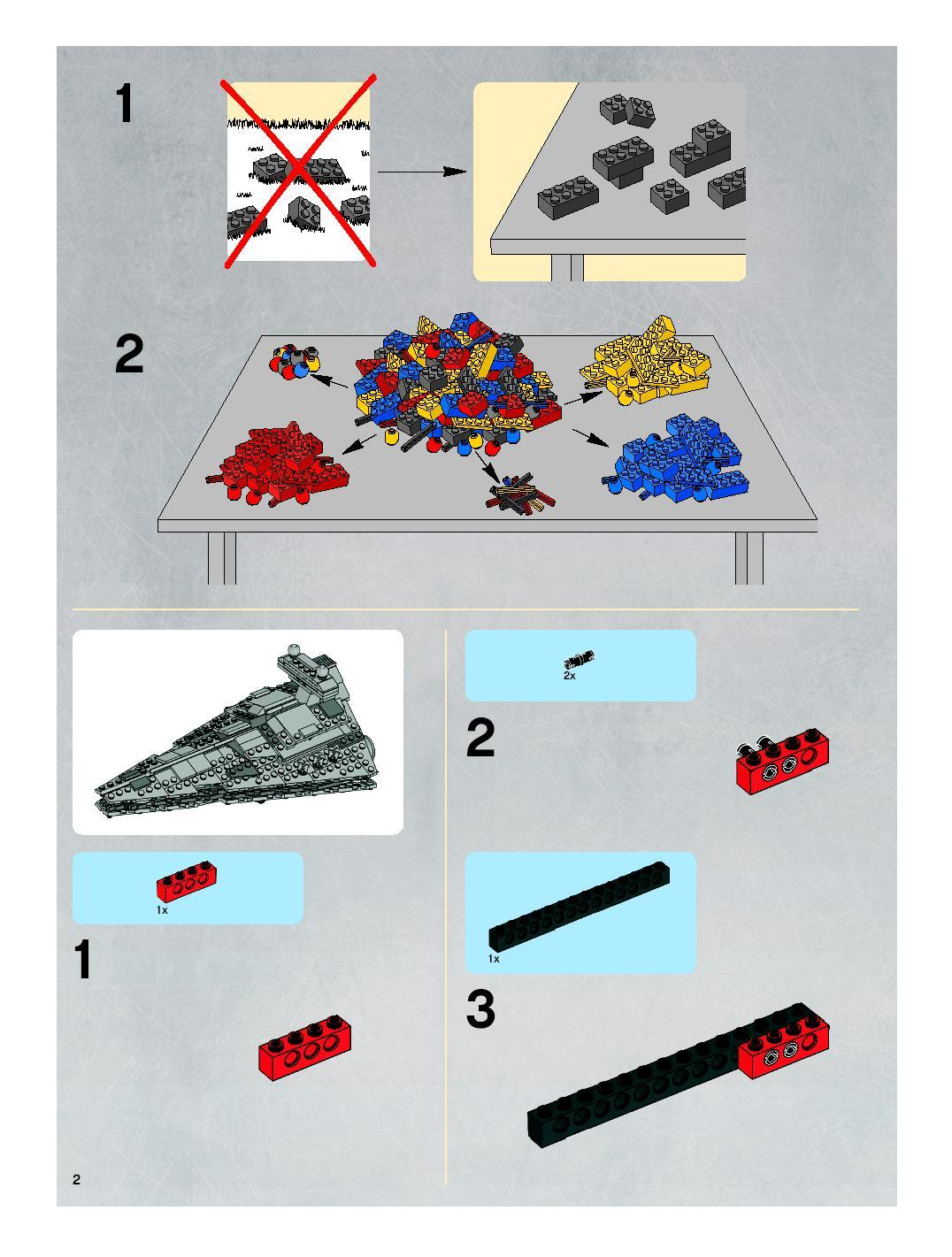 Instructions For 8099 1 Midi Scale Imperial Star Destroyer