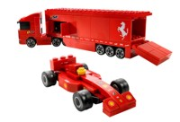 View Instructions For 8153-1 - Ferrari F1 Truck 1:55
