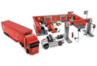 View Instructions For 8155-1 - Ferrari F1 Pit 1:55