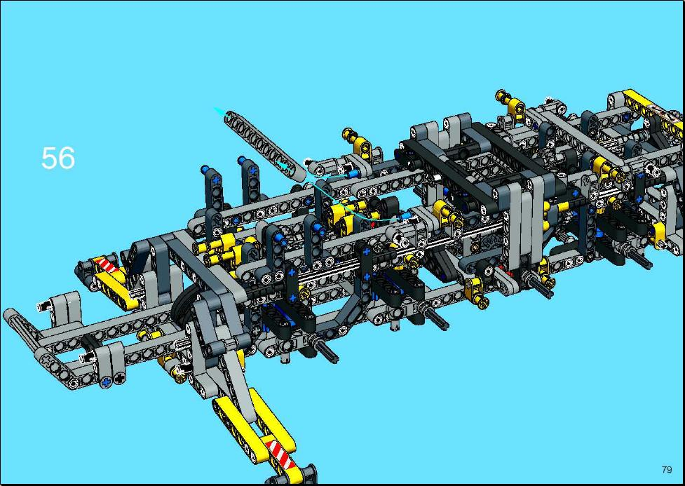lego mobile crane instructions
