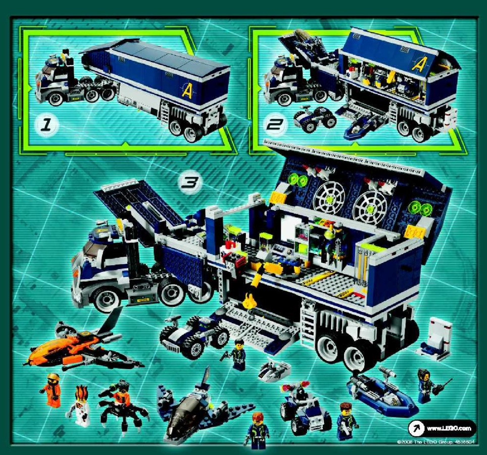 Lego Agents Mission 6 8635-1 - Page 48