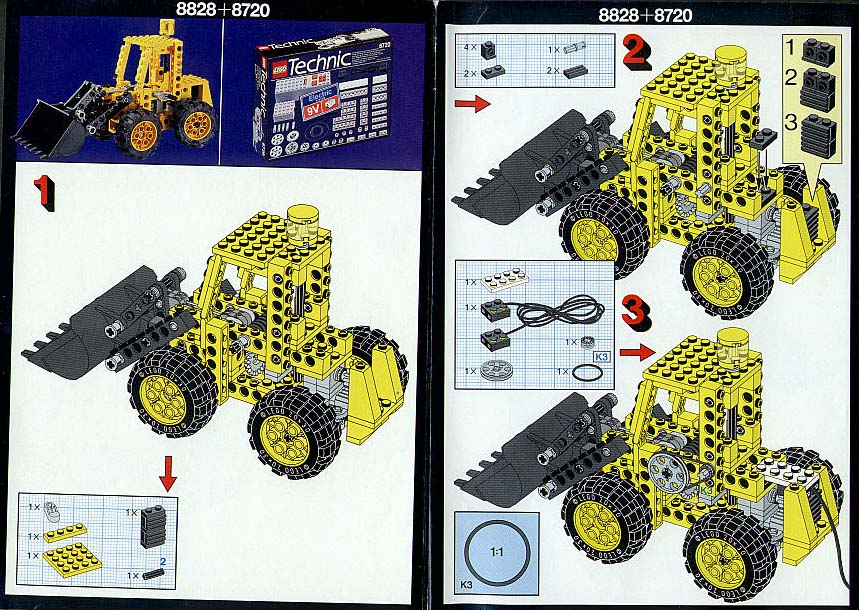 lego cement mixer 7990 instructions