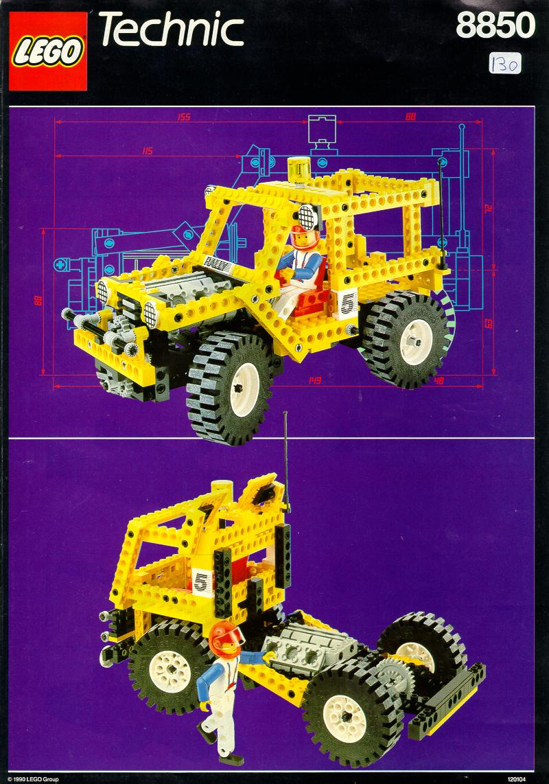 Instructions For 8850 1 Rally Support Truck Bricksgz