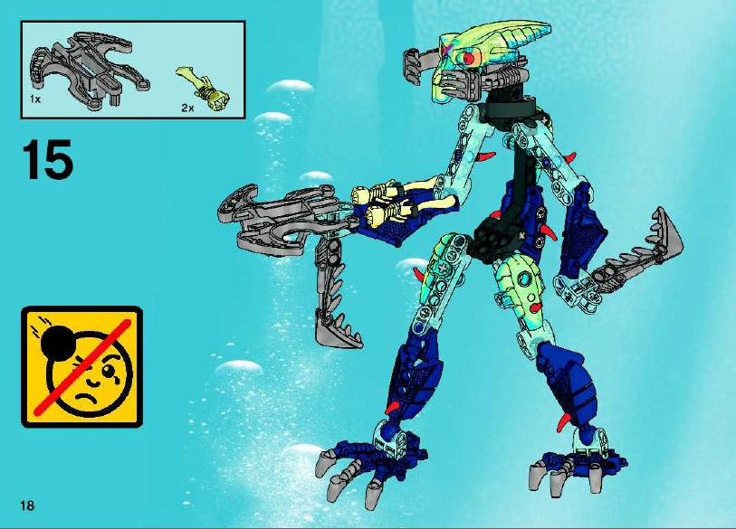 lego bionicle barraki instructions