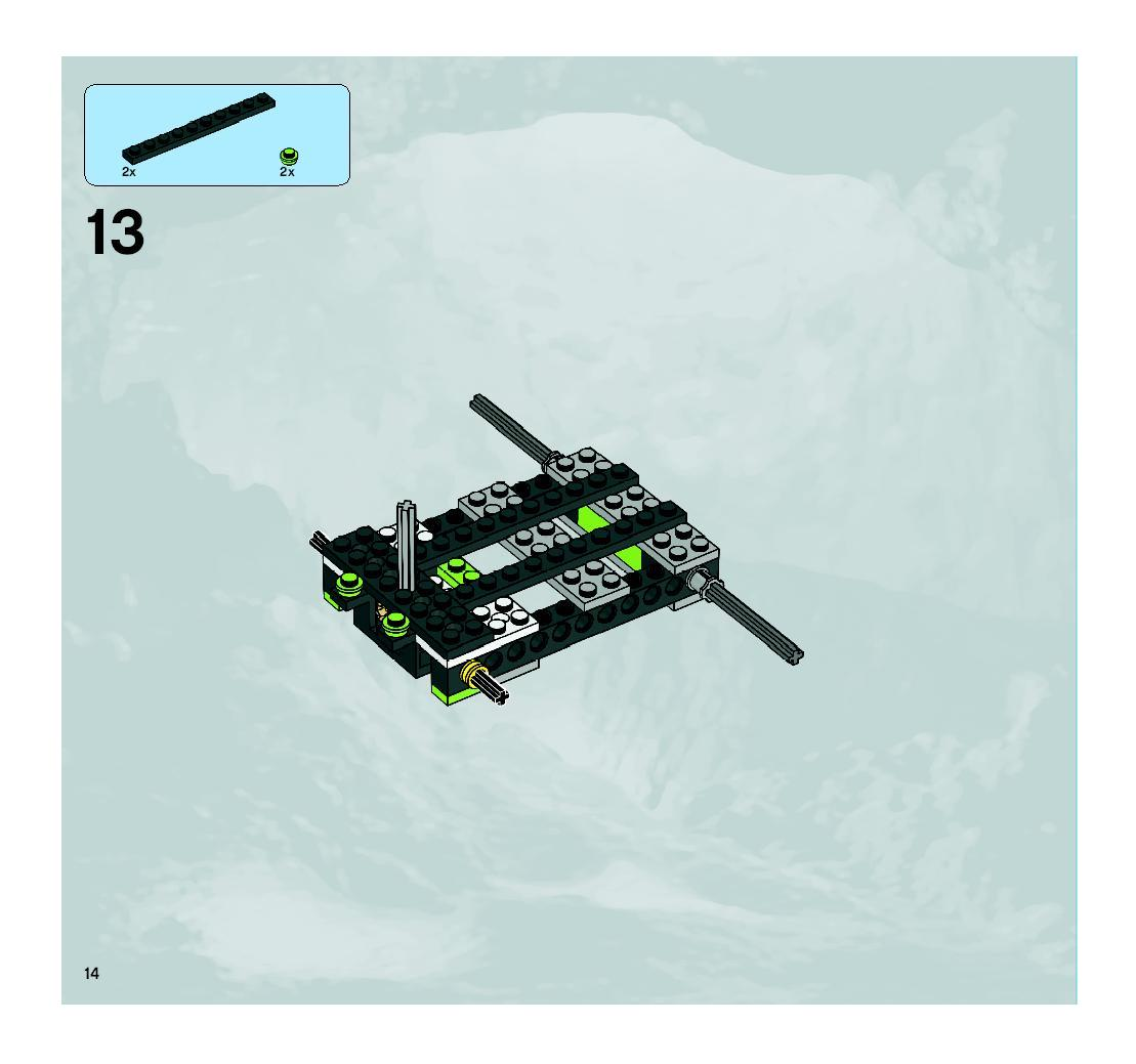 lego power miners combination instructions
