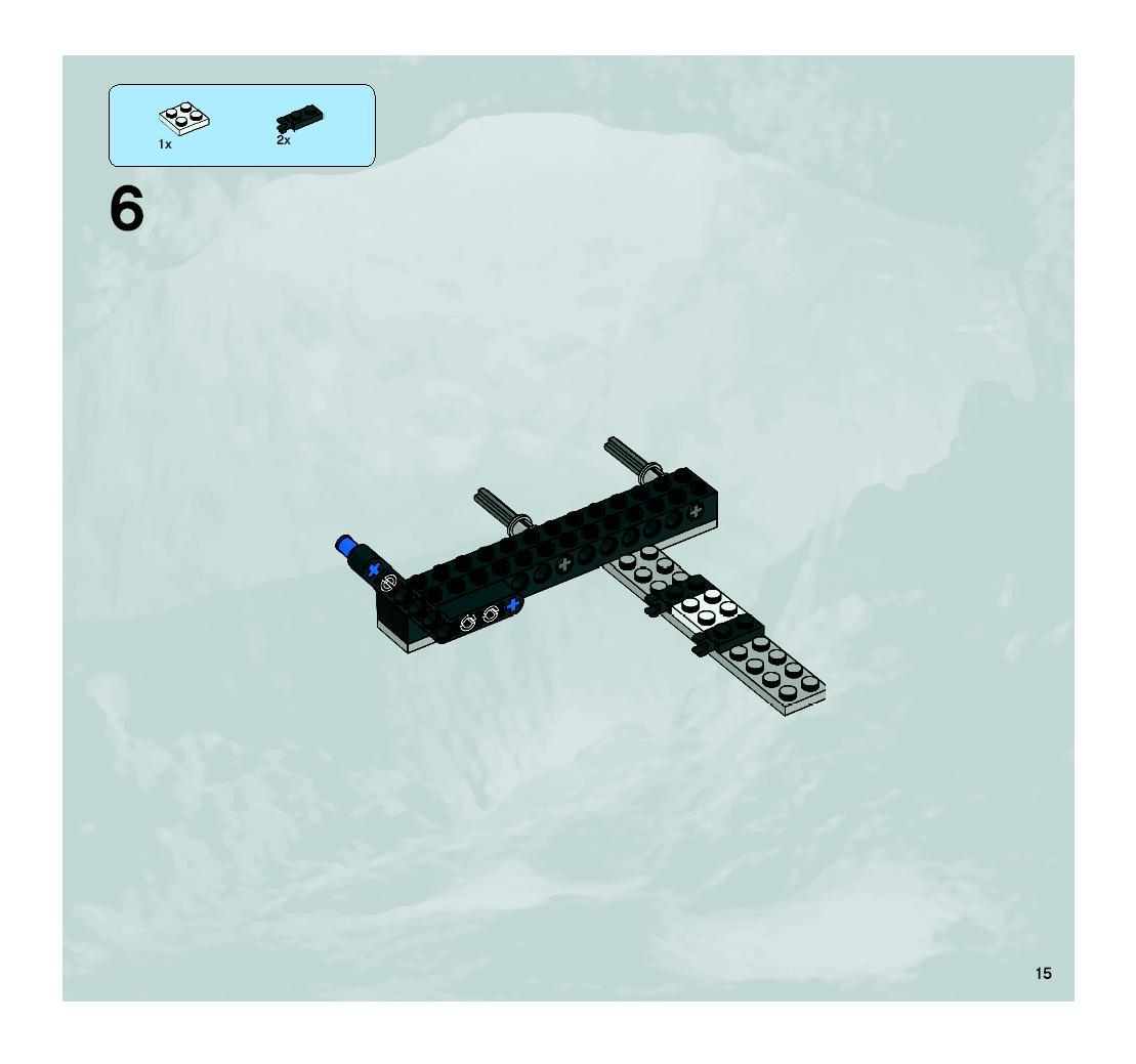 lego crystal sweeper instructions