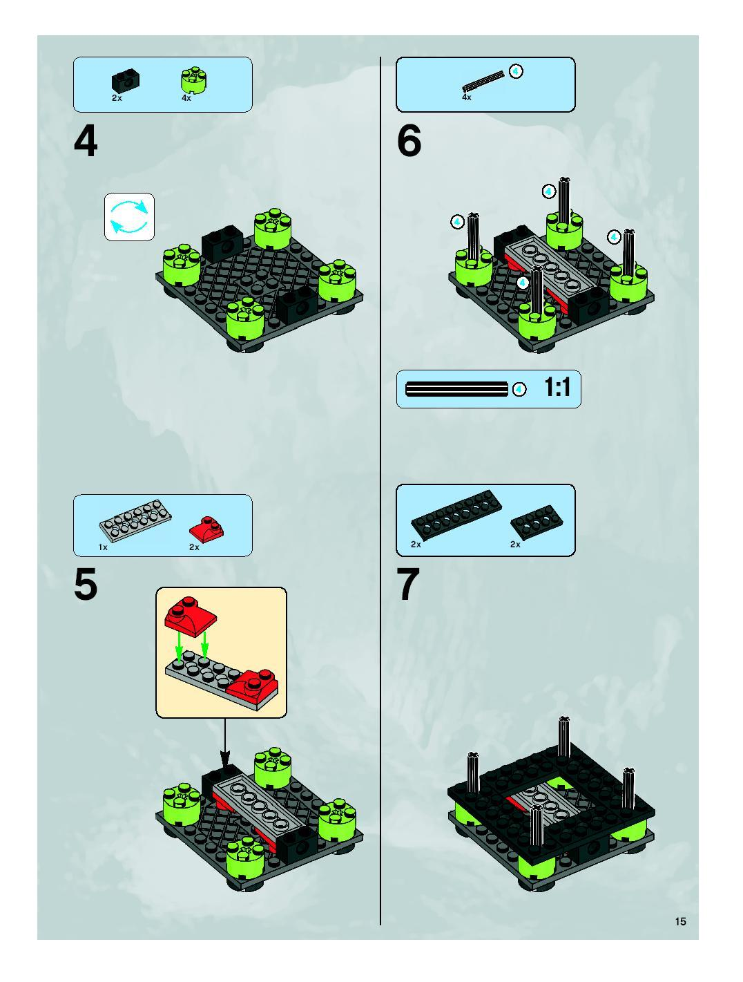 lego titanium command rig instructions