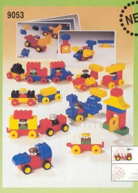 View Instructions For 9053-1 - DUPLO Basic Vehicles