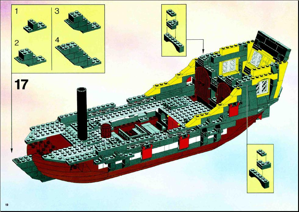 lego black seas barracuda instructions