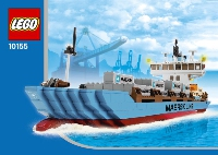 View Instructions For 10155-1 - Maersk Container Ship 2011 Edition