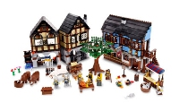 View Instructions For 10193-1 - Medieval Market Village