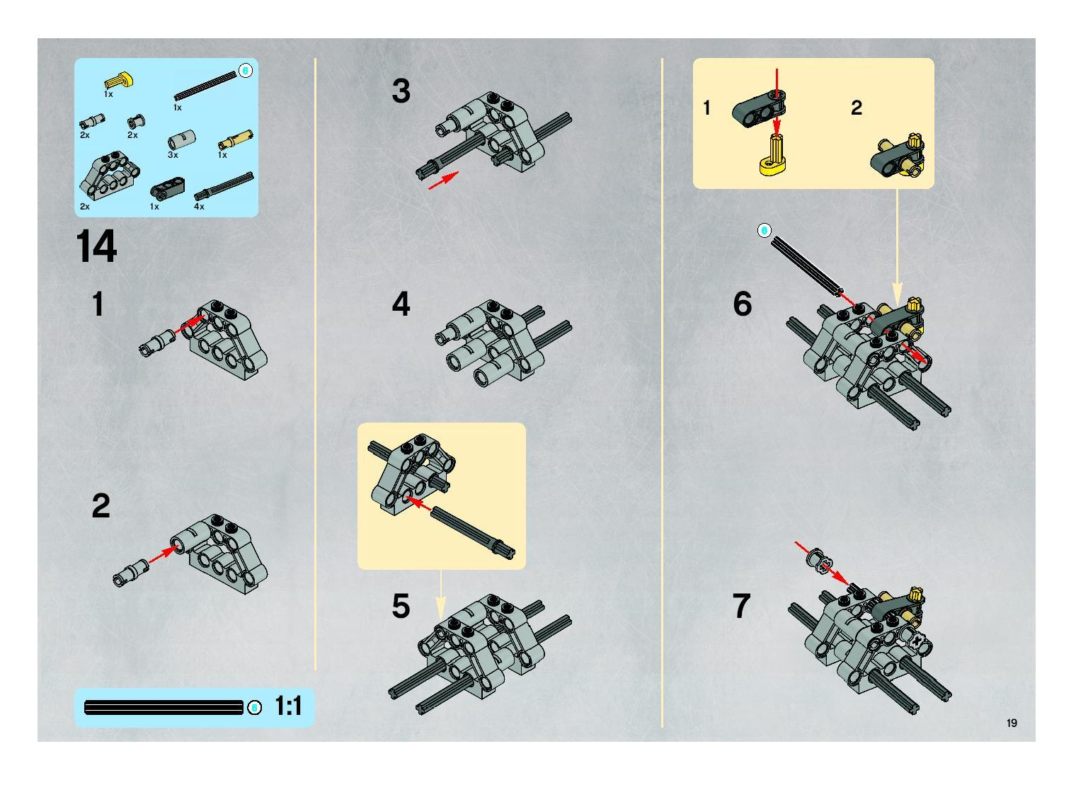 Lego Mini Build Instructions