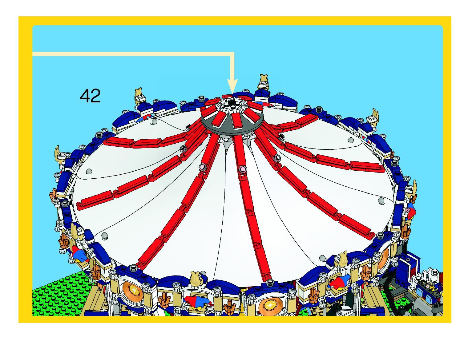 lego grand carousel instructions