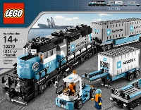 View Instructions For 10219-1 - Maersk Container Train
