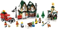 View Instructions For 10222-1 - Winter Village Post Office