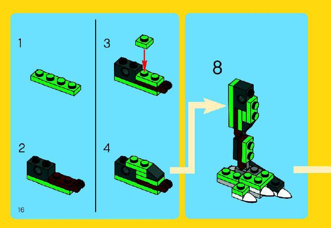 lego dinosaur creator instructions