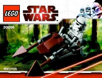 View Instructions For 30005-1 - Imperial Speeder Bike