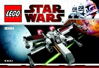 View Instructions For 30051-1 - X-wing Fighter