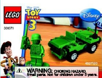 View Instructions For 30071-1 - Army Man Polybag